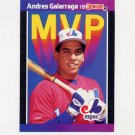 1989 Donruss Baseball Bonus MVP's #BC16 Andres Galarraga - Montreal Expos