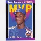 1989 Donruss Baseball Bonus MVP's #BC06 Darryl Strawberry - New York Mets