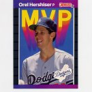 1989 Donruss Baseball Bonus MVP's #BC04 Orel Hershiser - Los Angeles Dodgers
