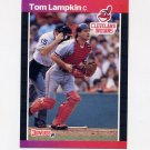 1989 Donruss Baseball #639 Tom Lampkin - Cleveland Indians