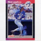 1989 Donruss Baseball #638 Rick Leach - Toronto Blue Jays