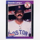 1989 Donruss Baseball #633 Dennis Lamp - Boston Red Sox
