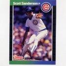 1989 Donruss Baseball #629 Scott Sanderson - Chicago Cubs
