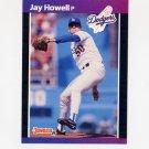 1989 Donruss Baseball #610 Jay Howell - Los Angeles Dodgers