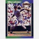 1989 Donruss Baseball #602 Mike LaCoss - San Francisco Giants