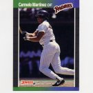 1989 Donruss Baseball #601 Carmelo Martinez - San Diego Padres