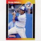 1989 Donruss Baseball #591 Ernie Whitt - Toronto Blue Jays