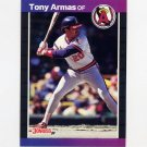1989 Donruss Baseball #580 Tony Armas - California Angels