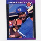 1989 Donruss Baseball #577 Rolando Roomes - Chicago Cubs