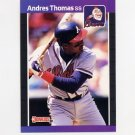 1989 Donruss Baseball #576 Andres Thomas - Atlanta Braves
