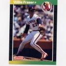 1989 Donruss Baseball #567 Willie Fraser - California Angels
