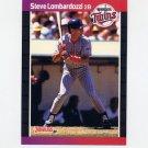 1989 Donruss Baseball #554 Steve Lombardozzi - Minnesota Twins