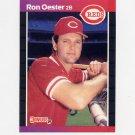 1989 Donruss Baseball #553 Ron Oester - Cincinnati Reds