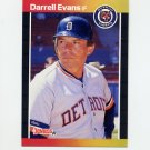 1989 Donruss Baseball #533 Darrell Evans - Detroit Tigers