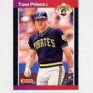 1989 Donruss Baseball #527 Tom Prince - Pittsburgh Pirates