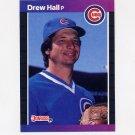 1989 Donruss Baseball #522 Drew Hall - Chicago Cubs