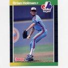 1989 Donruss Baseball #511 Brian Holman RC - Montreal Expos