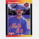 1989 Donruss Baseball #502 Terry Leach - New York Mets