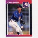 1989 Donruss Baseball #499 Zane Smith - Atlanta Braves