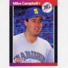 1989 Donruss Baseball #497 Mike Campbell - Seattle Mariners