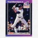 1989 Donruss Baseball #489 Fred Manrique - Chicago White Sox