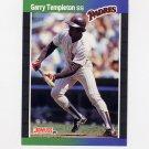 1989 Donruss Baseball #483 Garry Templeton - San Diego Padres