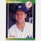 1989 Donruss Baseball #481 Dave Eiland - New York Yankees