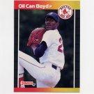 1989 Donruss Baseball #476 Oil Can Boyd - Boston Red Sox