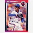1989 Donruss Baseball #471 Sid Fernandez - New York Mets