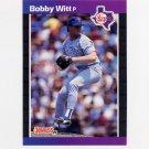 1989 Donruss Baseball #461 Bobby Witt - Texas Rangers