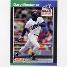 1989 Donruss Baseball #455 Daryl Boston - Chicago White Sox