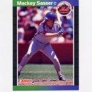 1989 Donruss Baseball #454 Mackey Sasser - New York Mets