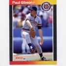 1989 Donruss Baseball #445 Paul Gibson - Detroit Tigers