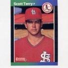 1989 Donruss Baseball #397 Scott Terry - St. Louis Cardinals
