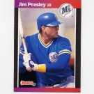 1989 Donruss Baseball #379 Jim Presley - Seattle Mariners