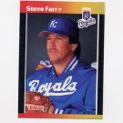 1989 Donruss Baseball #356 Steve Farr - Kansas City Royals