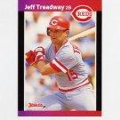 1989 Donruss Baseball #351 Jeff Treadway - Cincinnati Reds