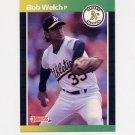 1989 Donruss Baseball #332 Bob Welch - Oakland A's