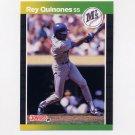 1989 Donruss Baseball #330 Rey Quinones - Seattle Mariners