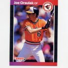 1989 Donruss Baseball #287 Joe Orsulak - Baltimore Orioles