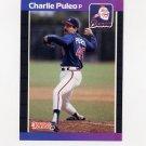 1989 Donruss Baseball #286 Charlie Puleo - Atlanta Braves