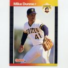 1989 Donruss Baseball #269 Mike Dunne - Pittsburgh Pirates