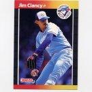 1989 Donruss Baseball #267 Jim Clancy - Toronto Blue Jays