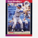 1989 Donruss Baseball #261 Scott Bradley - Seattle Mariners