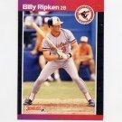 1989 Donruss Baseball #259 Billy Ripken - Baltimore Orioles