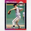 1989 Donruss Baseball #258 Mike Krukow - San Francisco Giants
