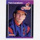 1989 Donruss Baseball #256 Tom Candiotti - Cleveland Indians