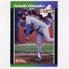 1989 Donruss Baseball #250 Fernando Valenzuela - Los Angeles Dodgers