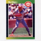 1989 Donruss Baseball #242 Bo Diaz - Cincinnati Reds