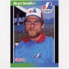 1989 Donruss Baseball #216 Bryn Smith - Montreal Expos